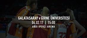 Maça doğru | Galatasaray – Girne Üniversitesi