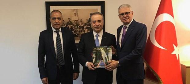 Ankara Fas Krallığı Büyükelçisi ve İstanbul Başkonsolosu'ndan Başkanımız Mustafa Cengiz'e ziyaret