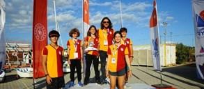 Techno 293 U13 kategorisinde Viktoria Derin Kaya kızlarda Türkiye üçüncüsü
