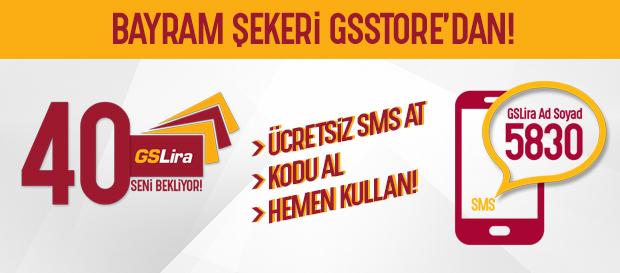 SMS gönder, 40 GSLira kazan!