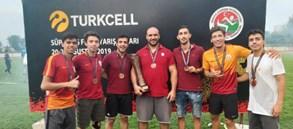 Atletizm Süper Lig'de Galatasaray Üçüncü