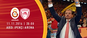 Maça Doğru | Galatasaray Odeabank – Olympiacos