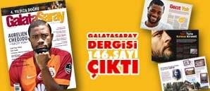 Galatasaray Dergisi 146. Sayısı Bayilerde