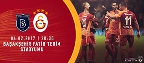 Maça doğru   Başakşehir - Galatasaray