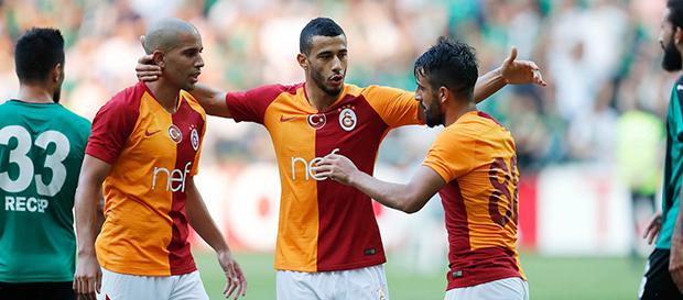 Sakaryaspor 0-3 Galatasaray