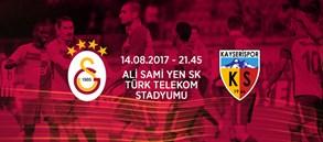 Maça doğru | Galatasaray - Kayserispor