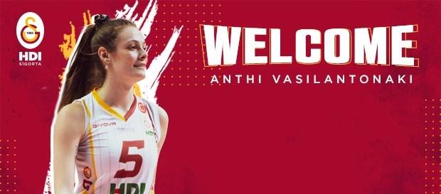 Anthi Vasilantonaki yeniden Galatasaray'da