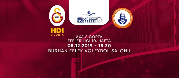 Maça doğru | Galatasaray HDI Sigorta - İstanbul BBSK