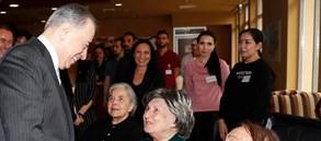 Başkanımız Mustafa Cengiz'den Galatasaraylılar Yurdu'na ziyaret