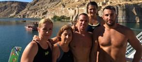 Rumkale Açık Su Yüzme Yarışı tamamlandı