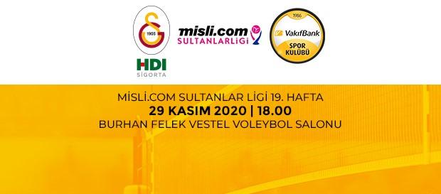 Maça Doğru | Galatasaray HDI Sigorta - Vakıfbank