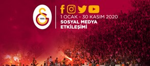 Sosyal medyada Türkiye'nin lideri Galatasaray!