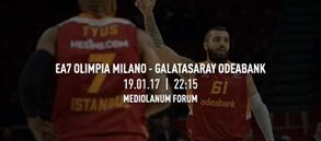 Maça doğru | Olimpia Milano – Galatasaray Odeabank