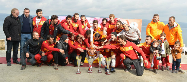 Kürekte Şampiyon Galatasaray