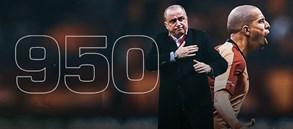 Teknik direktörümüz Fatih Terim önderliğindeki 950. gol Feghouli'den