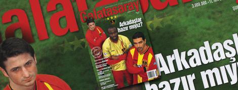 Galatasaray Dergisi 8. Sayı İçeriği