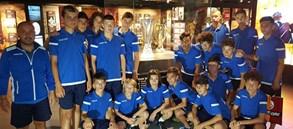 Juventus Bükreş U15 Takımı Galatasaray Stadyum Müzesini Ziyaret Etti
