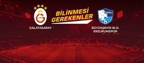 Opta Facts | Galatasaray - Büyükşehir Belediye Erzurumspor
