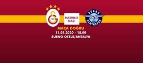 Maça Doğru   Galatasaray - Adana Demirspor