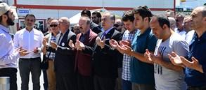 Başkan Mustafa Cengiz'den Aksu Ailesi'ne başsağlığı