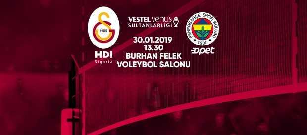 Maça doğru | Galatasaray HDI Sigorta - Fenerbahçe Opet