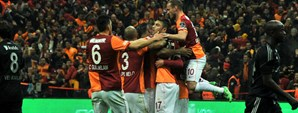 Galatasaray 1 - 0 Beşiktaş