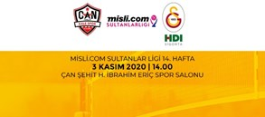 Maça Doğru | Çan Gençlik Kale Spor - Galatasaray HDI Sigorta