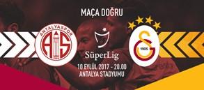 Maça doğru | Antalyaspor – Galatasaray