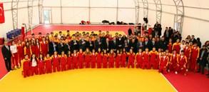 Galatasaray Taçspor 1905 AGS Voleybol Altyapı Salonu Açıldı