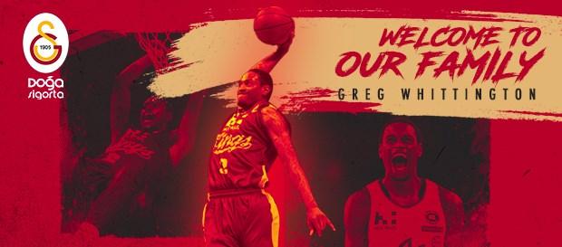 Greg Whittington Galatasaray Doğa Sigorta'da