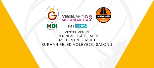 Maça doğru   Galatasaray HDI Sigorta - Karayolları