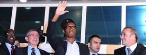 Didier Drogba İstanbul'da