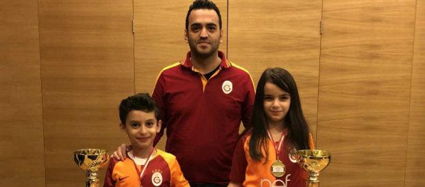Asya Arslan ve Ateş Atabey Ayhan'dan şampiyonluk