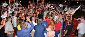 Çifte kupaya Fethiye'de coşkulu kutlama