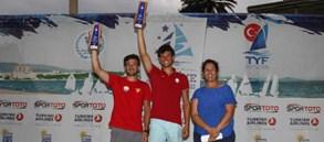 Onur Cavit Biriz Türkiye şampiyonu