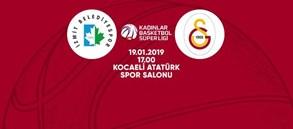 Maça doğru   İzmit Belediyespor – Galatasaray