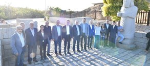 Başkanımız Mustafa Cengiz Arslantepe'yi ziyaret etti