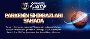 Tahincioğlu All-Star 2018 kadroları açıklandı