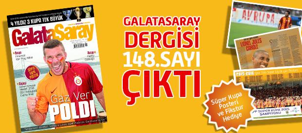 Galatasaray Dergisi 148. Sayısı Bayilerde