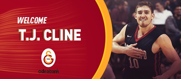 TJ Cline Galatasaray Odeabank'ta