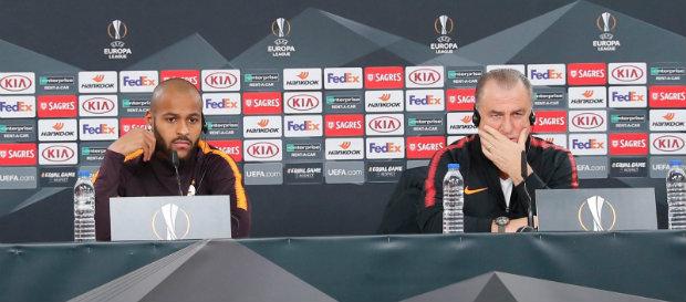 SL Benfica maçı öncesi Fatih Terim ve Marcao'dan açıklamalar