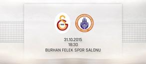 Maça Doğru: Galatasaray - İstanbul Büyükşehir Belediye Spor Kulübü