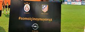 Galatasaray ve Atletico Madrid Soma İçin