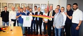 Gönen ve Biga Galatasaraylılar Derneği'nden Yönetimimize ziyaret