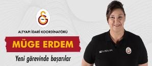 Müge Erdem, Altyapı İdari Koordinatörlüğü'ne getirildi
