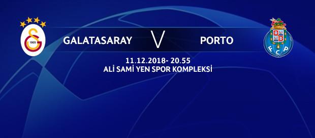 Maça doğru | Galatasaray – FC Porto