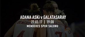 Maça doğru | Adana ASKİ – Galatasaray