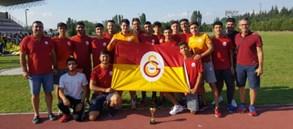 Galatasaray U18 Atletizm Ligi'ni 3. sırada tamamladı