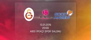 Maça Doğru: Galatasaray – Good Angels Kosice