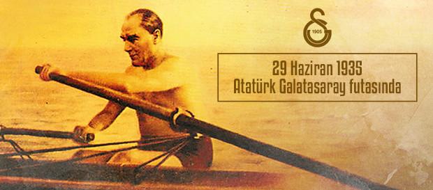 29 Haziran 1935 | Atatürk Galatasaray futasında